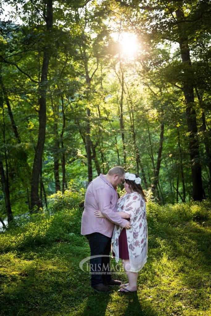 Valley Falls Engagement Photographer | Brandon + Cheyenne