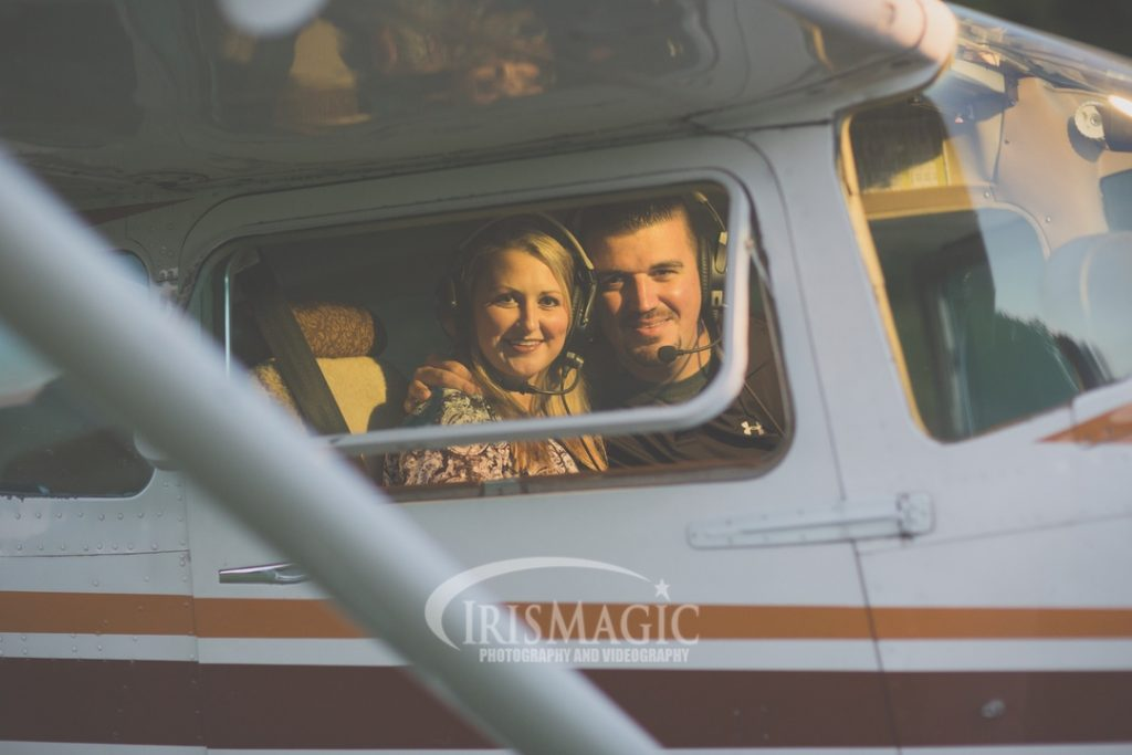 WV Engagement Photographer | Airplane inspired Engagement Photos | JB + Chelsea