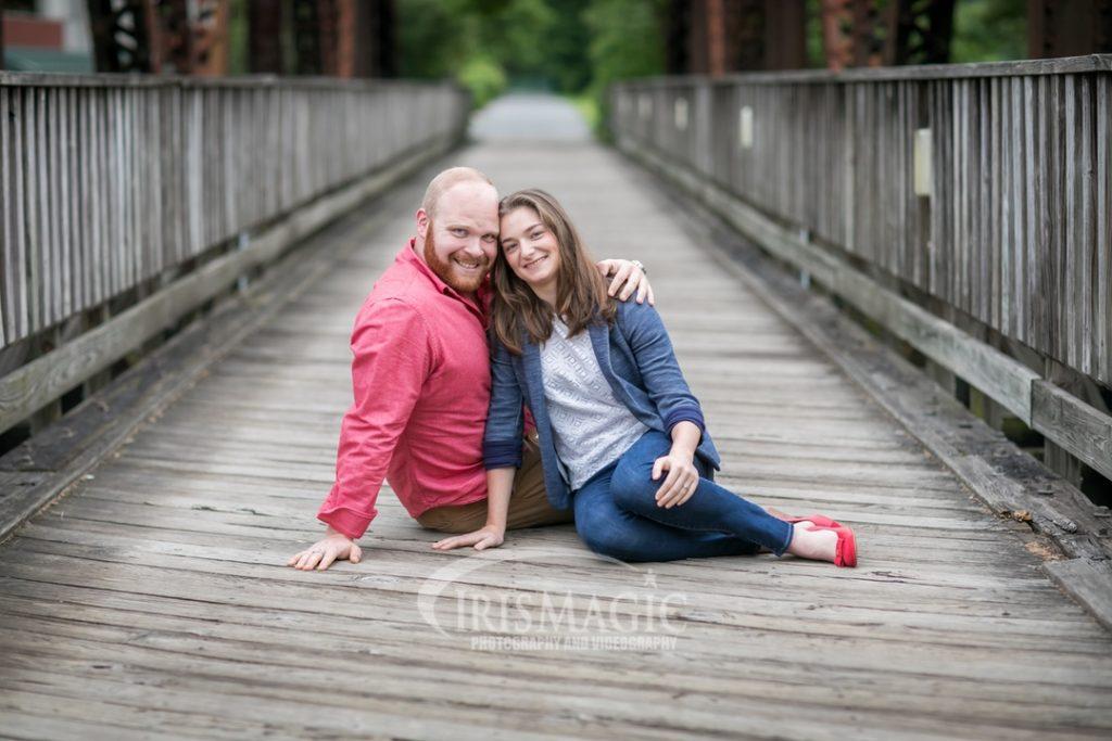 WV Engagement Photographer | Randy and Nakoma