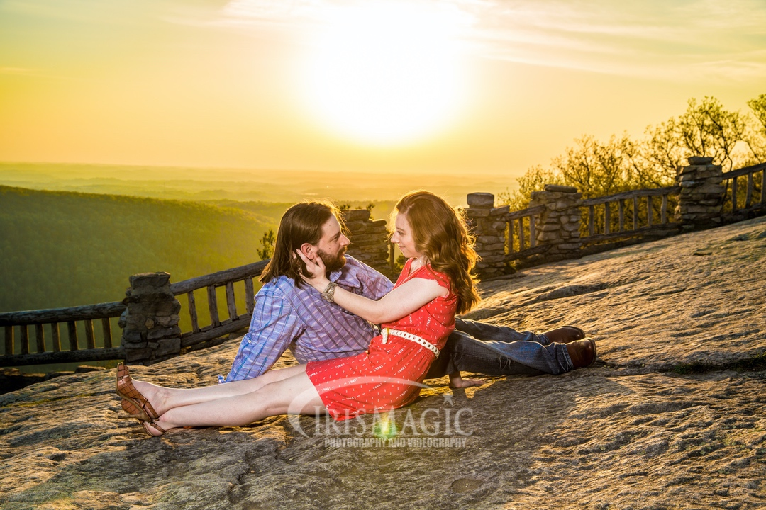 WV Engagement Photographer | Coopers Rock State Forest Engagement Photos | Josh + Stephanie