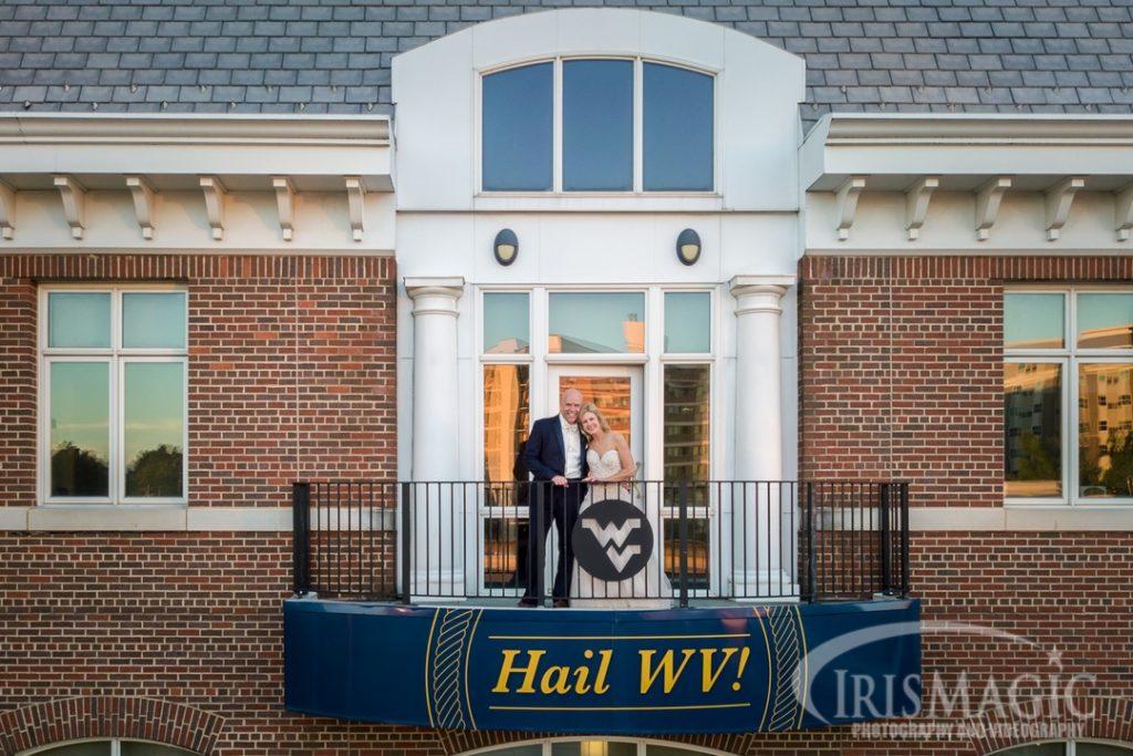 WV Wedding Photographer | Erickson Alumni Center | Steve + Ann